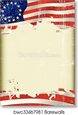 photo regarding Betsy Ross Printable Pictures referred to as Betsy Ross Flag grunge record artwork print poster