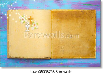 Art Print Of First Holy Communion Background Barewalls Posters