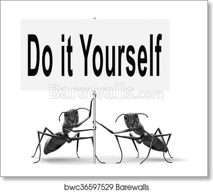 Art print of do it yourself self development barewalls posters art print of do it yourself self development solutioingenieria Gallery