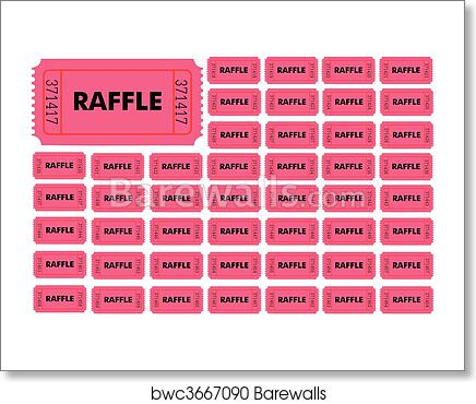Numbered Raffle Ticket Template from images.barewalls.com