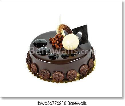 Art Print Of Yummy Chocolate Cake Barewalls Posters Prints