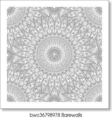 Coloring pages for adults.Decorative hand drawn doodle nature ...