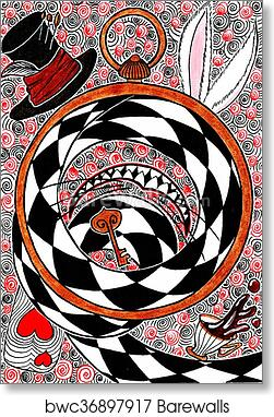 Alice In Wonderland Object Concept Art