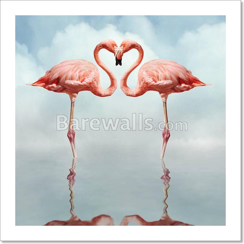 Love Birds Art Print/Canvas Home Decor Wall Art Poster - B | eBay