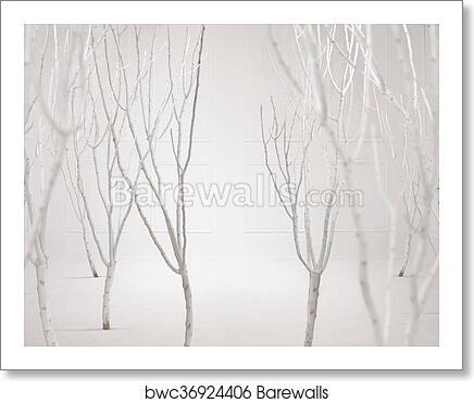 Fine art photo of a dreamy white background, Art Print ...