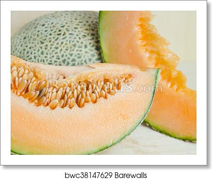Sliced Melon With Seed On Wooden Board Other Names Are Melon Cantelope Cantaloup Honeydew Crenshaw Casaba Persian Melon And Santa Claus Or Christmas Melon Art Print Barewalls Posters Prints Bwc38147629 Eating cantaloupe may bring a number of health benefits. sliced melon with seed on wooden board other names are melon cantelope cantaloup honeydew crenshaw casaba persian melon and santa claus or