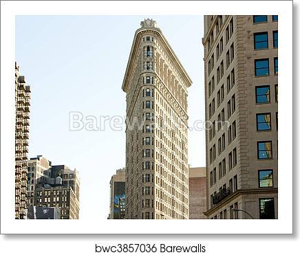 Flatiron Building Manhattan New York City Usa Art Print