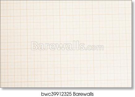 art print of seamless millimeter graph paper background barewalls