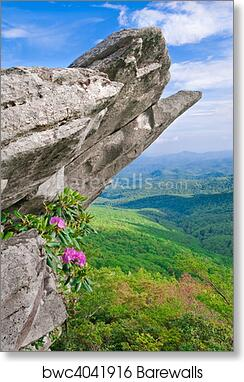 D Blue Ridge Parkway Scenic Landscape Art Print Home Decor Wall Art Poster