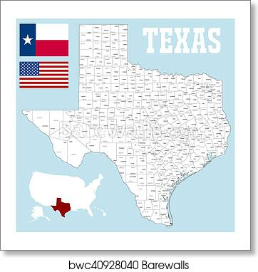 Texas Map With Cities Hdlfuneralhomes