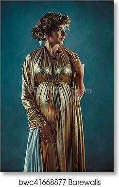 Salvador Dali Women/'s trio Art Silk poster 12x18 24x36