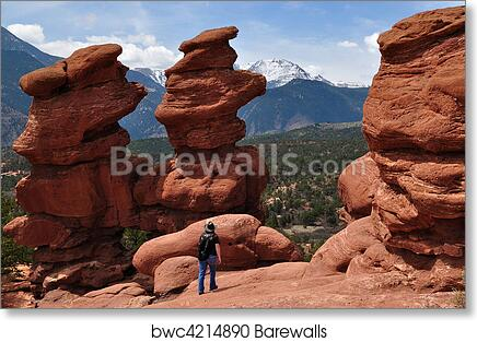 Siamese Twins At Garden Of The Gods Art Print Poster