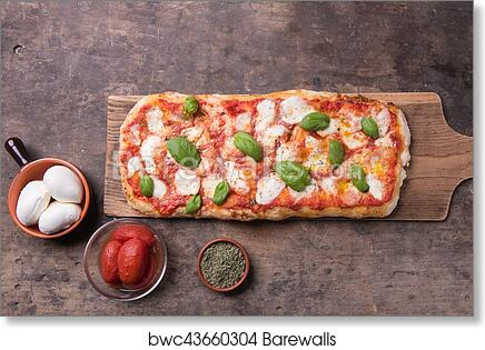 Art Print Of Pala Romana Pizza