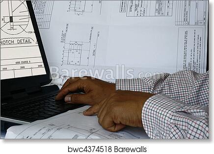 Art print of computer aided design 2 barewalls posters prints art print of computer aided design 2 malvernweather Images