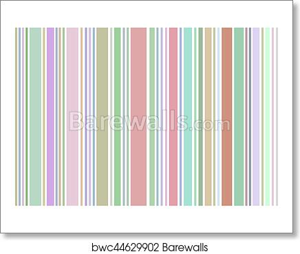 Art Print Of Pinstripe Pattern Background Pastel Colors Barewalls Inspiration Pinstripe Pattern