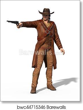 84f0abba807 Old West Gunslinger Outlaw