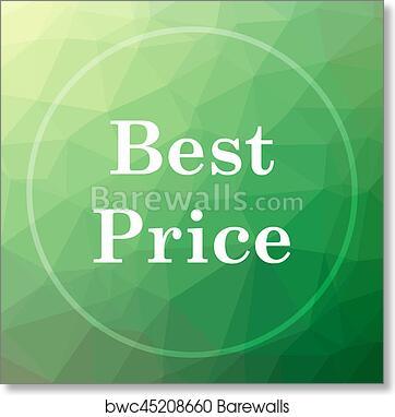 art print of best price icon barewalls posters prints bwc45208660