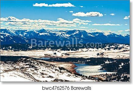 Ranger Naturalist Service Yellowstone National Park Giclee/' print 24x36 inch