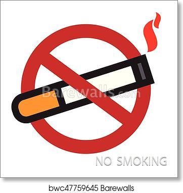 World No Tobacco Day Vector Art Print Barewalls Posters Prints Bwc47759645