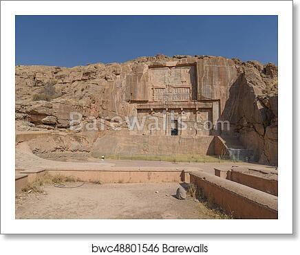 Ruins Of Persepolis In Shiraz Iran Art Print Barewalls Posters Prints Bwc48801546