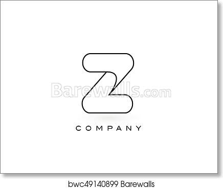 Art print of z monogram letter logo with thin black monogram outline art print of z monogram letter logo with thin black monogram outline contour modern trendy letter design vector spiritdancerdesigns Image collections