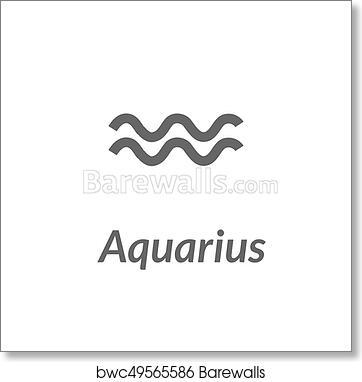 The Water Bearer Aquarius Sing Star Constellation Element Age Of Aquarius Constellation Zodiac Symbol On Light Background Art Print Barewalls Posters Prints Bwc49565586
