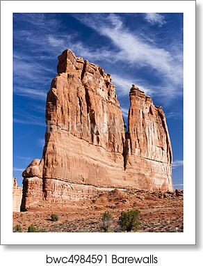 Art Print Of Tower L Arches National Park