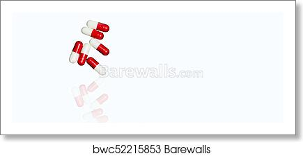 2b89fd39 Red, white antibiotic capsules pills isolated on white background with copy  space and clipping path. Drug resistance, antibiotic drug use with  reasonable ...