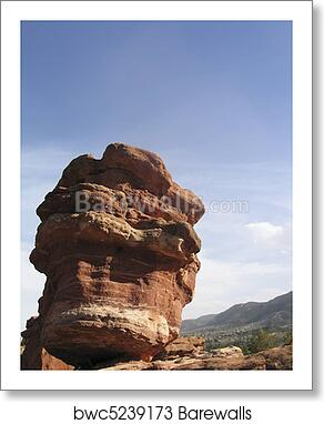 Garden Of The Gods Art Print Poster