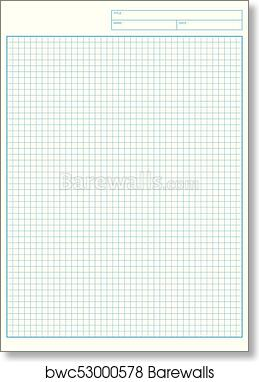 photo about Engineering Paper Printable called Technologies graph paper Printable Graph Paper vector artwork print poster