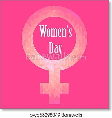 Art print of happy international womens day greeting card art print of happy international womens day greeting card m4hsunfo