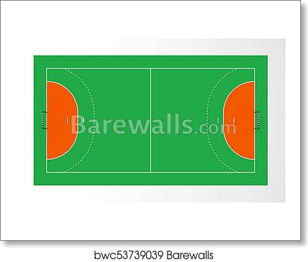 Handball Court Art Print Barewalls Posters Prints Bwc53739039