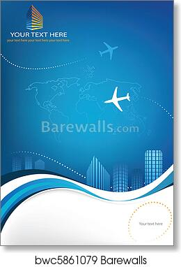Business Travel Template Art Print Barewalls Posters Prints Bwc5861079