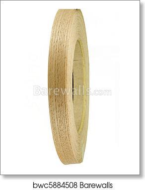 Wood Veneer Tape Art Print Poster