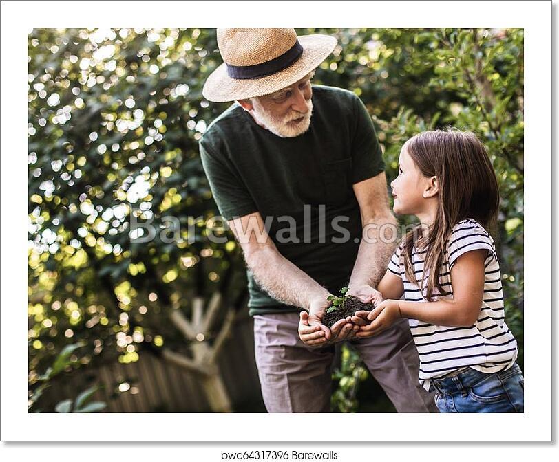 Old man girl Young Girl