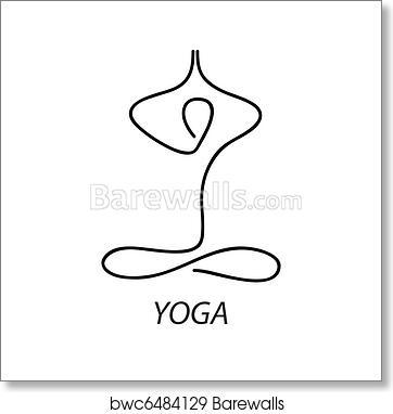 Yoga Art Print Barewalls Posters Prints Bwc6484129