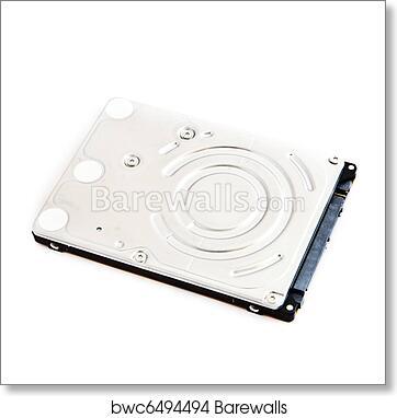 Laptop Hard Drive Art Print Barewalls Posters Prints Bwc6494494