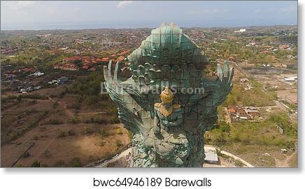 Garuda Wisnu Kencana Cultural Park Bali Art Print Barewalls