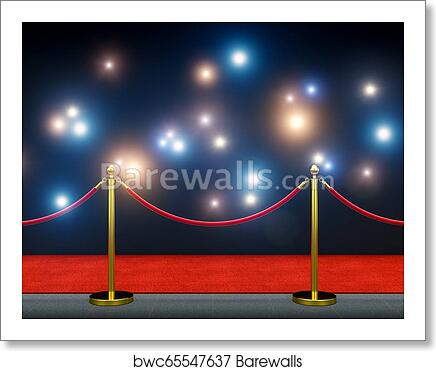 Paparazzi On Red Carpet Art Print Barewalls Posters Prints Bwc65547637