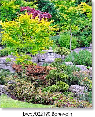 Exceptionnel Art Print Of Kyoto Garden