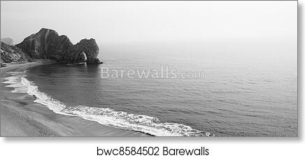 Durdle Door Landscape Canvas Art Print and Poster for Wall Decor