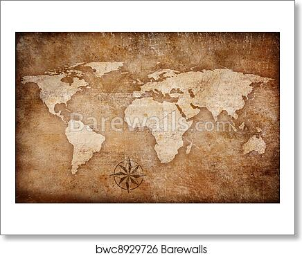 Grunge world map background with rose comp art print poster on rose color, rose date, rose print, rose path, rose tree, rose street, rose kill,