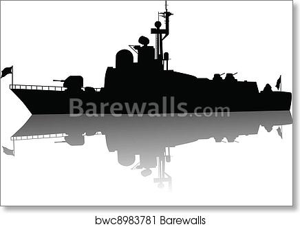 POWER quote poster INSPIRATIONAL MOTIVATIONAL military battleship 24X36 HOT