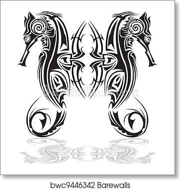 5d143f436 Art Print of Tribal arts. | Barewalls Posters & Prints | bwc9446342