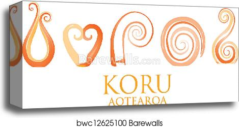 4ab3b12fbc6ad Koru, Canvas Print   Barewalls Posters & Prints   bwc12625100