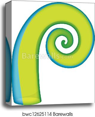 8783f497e3e9c Koru, Canvas Print   Barewalls Posters & Prints   bwc12625114