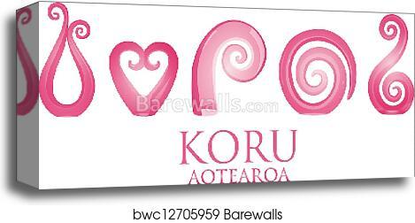 bbed9f81610dd Koru, Canvas Print   Barewalls Posters & Prints   bwc12705959