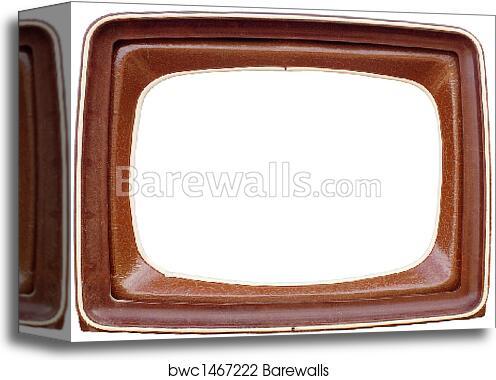Canvas Print of TV frame | Barewalls Posters & Prints | bwc1467222