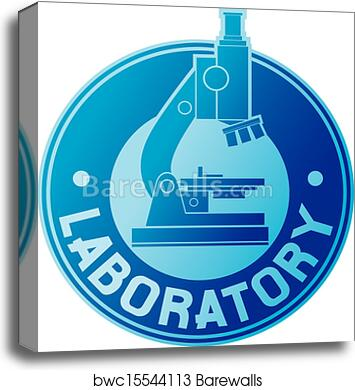 Canvas Print Of Laboratory Label Barewalls Posters Prints