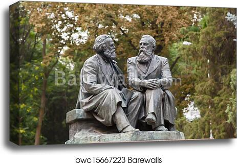 """Karl Marx Figures Paintings HD Canvas Print 20/""""x30/""""Home Decor Wall Art Pictures"""